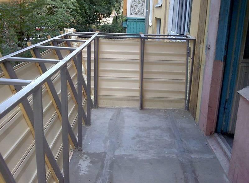Допустимая нагрузка на балконную плиту в панельном доме, кирпичном, хрущевке