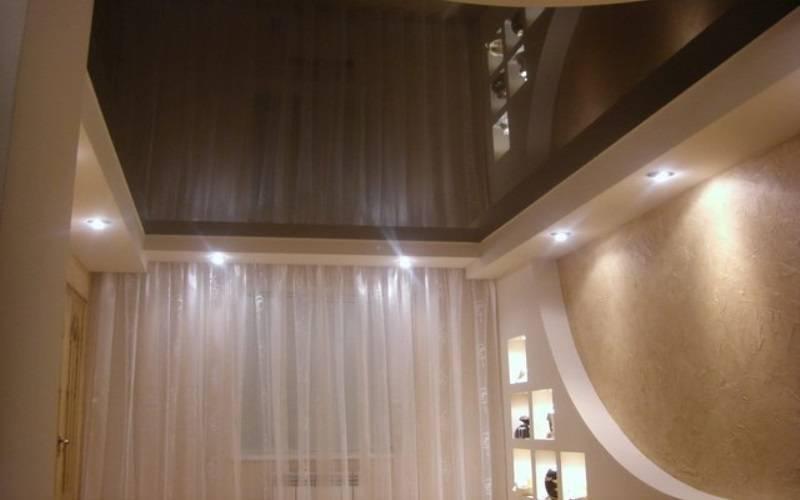 Матовый или сатиновый натяжной потолок: какой лучше выбрать