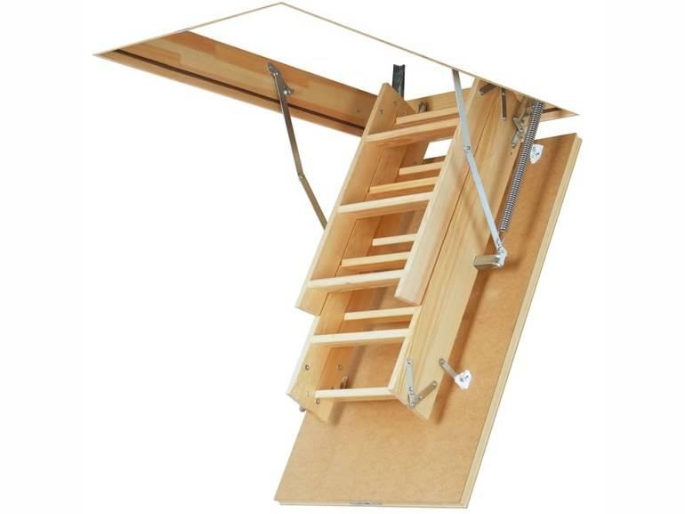 Установка люка на чердак с лестницей своими руками: пошаговая инструкция - размеры и расстояние от стены +видео