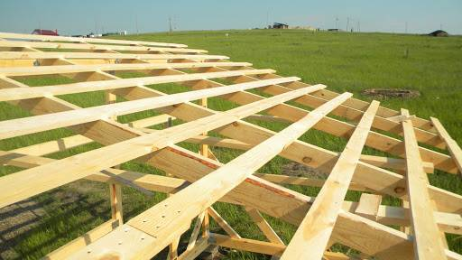 Деревянные балки перекрытия для большого пролета: Инструкции и Фото