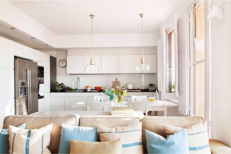 Особенности дизайна кухни-гостиной: идеи интерьера кухни, совмещенной с гостиной, примеры и советы