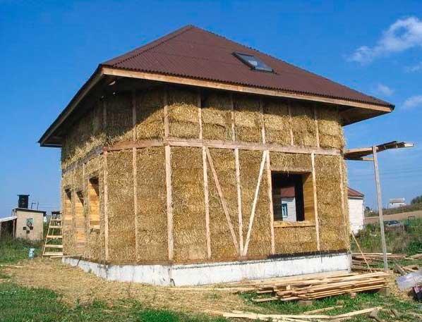 Дома из глины и соломы технология - всё о строительстве дома