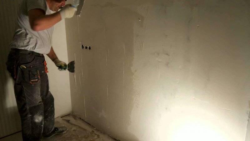 Как шпаклевать стены, видео, фото, инструкции, советы