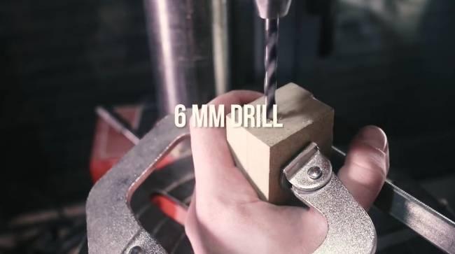 Сделал сверло из гвоздя – легко сверлит 5-миллиметровую сталь