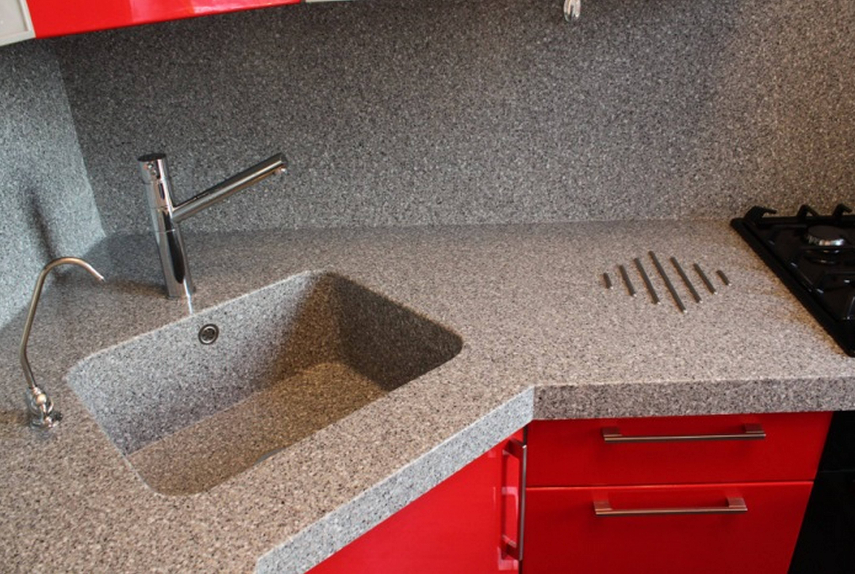 Как быстро отмыть раковину из искусственного камня на кухне