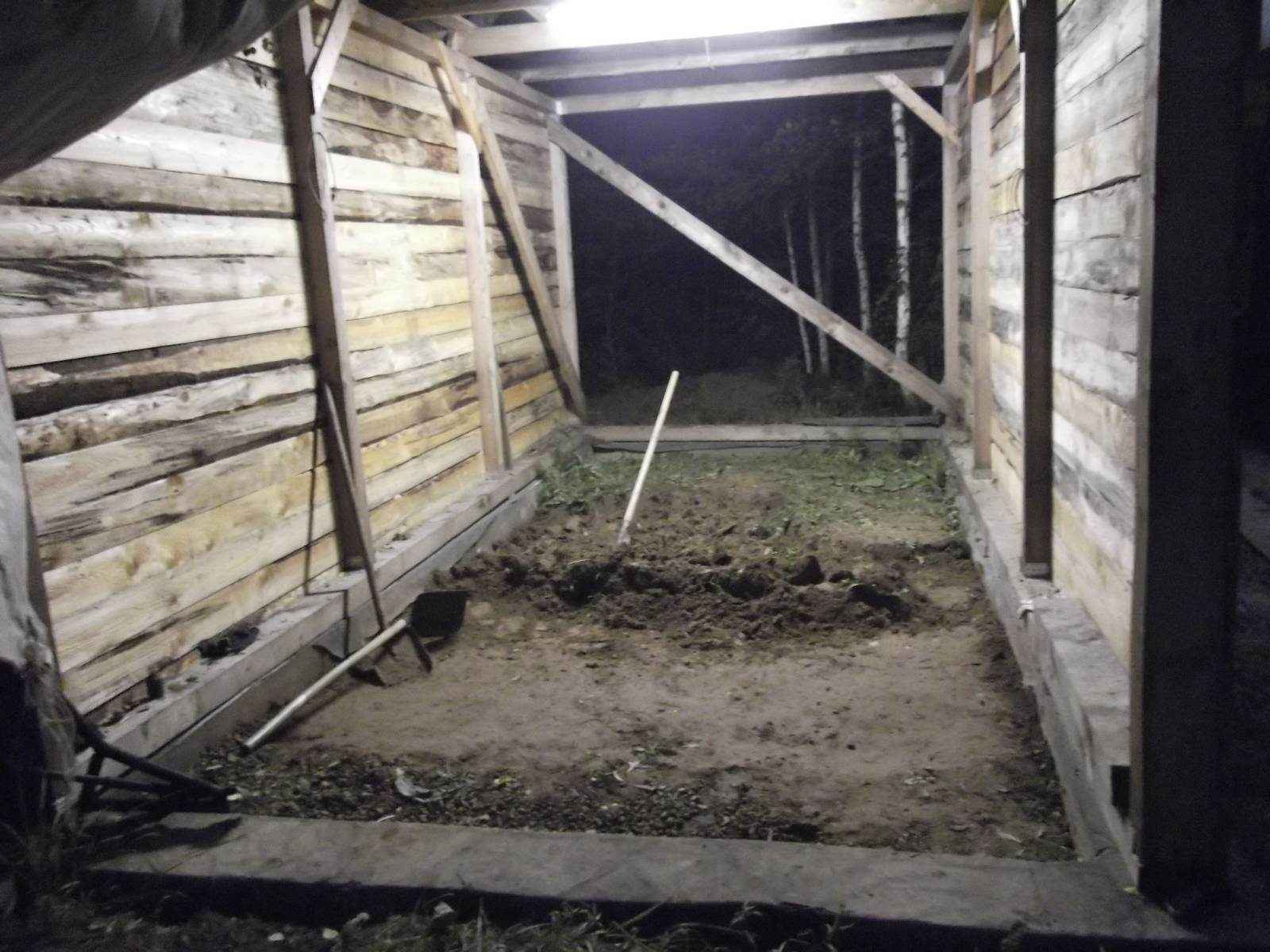Сообщества › гаражные дела › блог › строю гараж. стены. пост 3