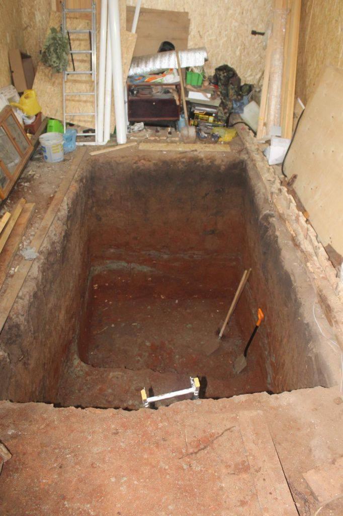 Смотровая яма в гараже - как сделать своими руками, размеры