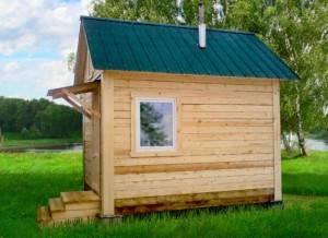 Мини-баня: как сделать маленькую баню на даче своими руками (фото + видео)