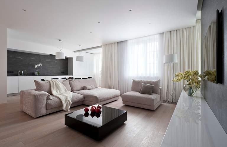 Натяжные тканевые потолки в интерьере - лучшие дизайнерские решения