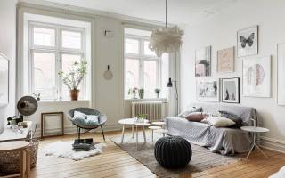 Кухня в скандинавском стиле: 80 фото незабываемых интерьеров