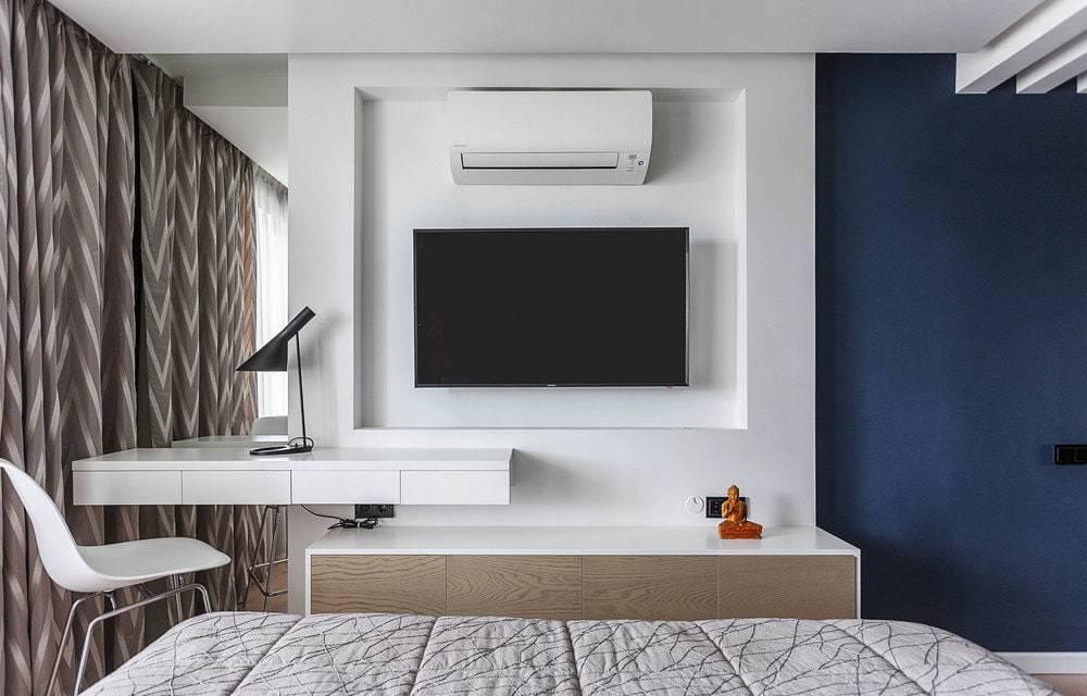 Ниша под телевизор из гипсокартона своими руками: советы по созданию, фото дизайна и прочие нюансы