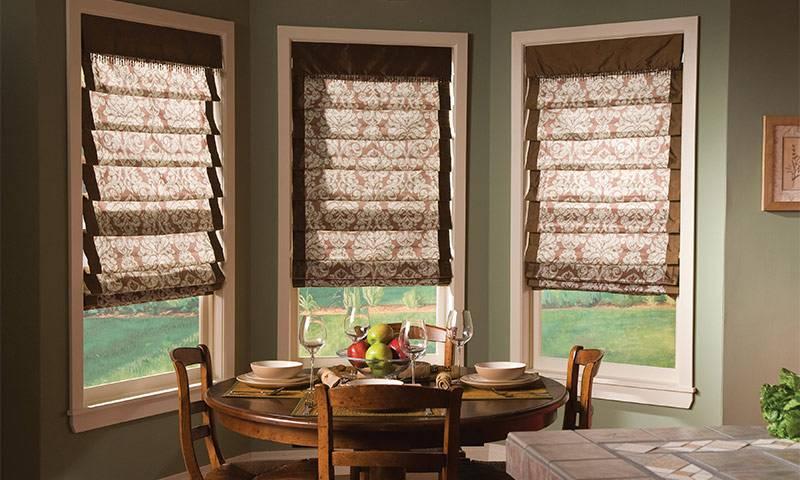 Римские шторы для кухни: 70+ реальных фото, виды римских штор, плюсы и минусы