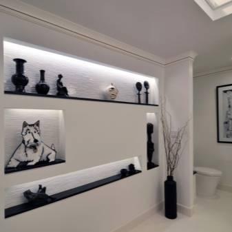 Ниши из гипсокартона в гостиной фото: дизайн зала, интерьер стен, видео ниши из гипсокартона в гостиной: фото и 2 варианта подсветки – дизайн интерьера и ремонт квартиры своими руками