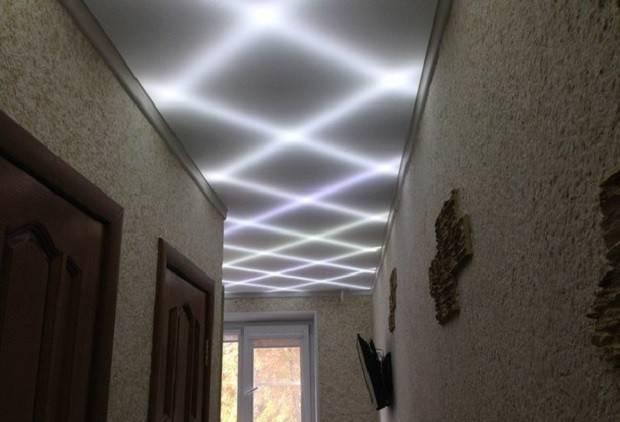 Светодиодная лента под натяжным потолком - широкие возможности