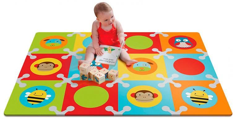 Мягкий пол для детских комнат: оптимальное и красивое решение безопасности детей