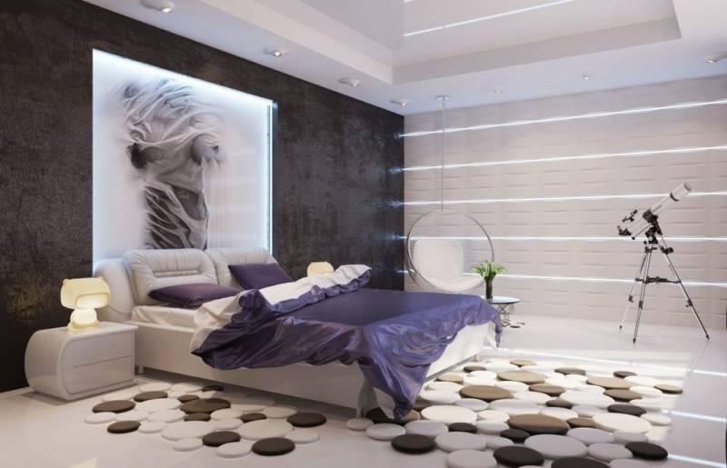 Какой ковер выбрать в спальню, какие ковры бывают, польза ковров