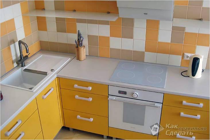 Собираем кухонный гарнитур поэтапно – инструкция и советы