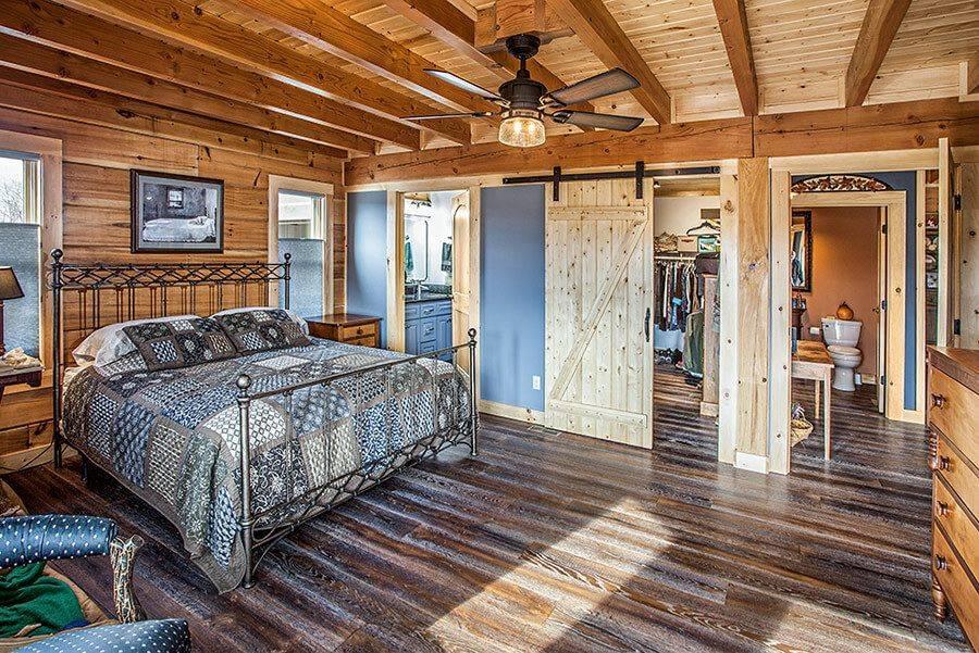 Спальня в частном доме – красивый современный дизайн и оформление загородных домов (100 фото)