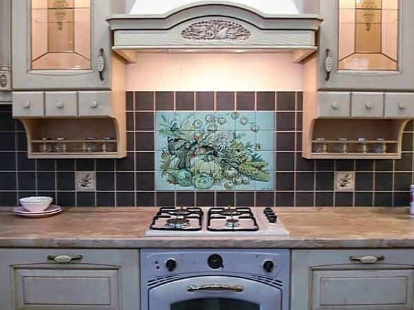 Монтируем кухонный фартук из плитки самостоятельно