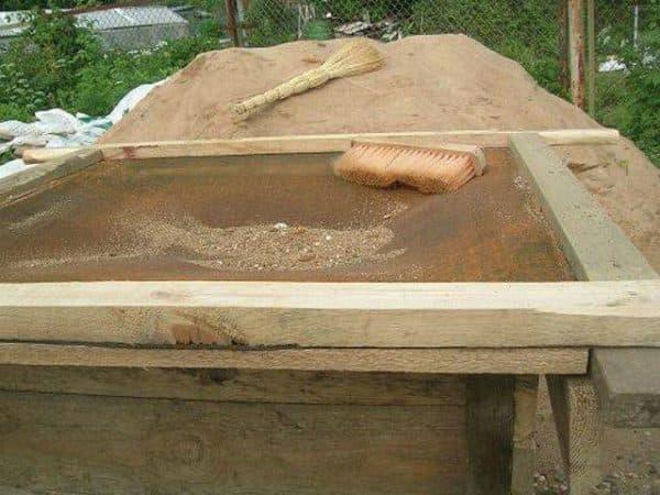 Цементный раствор: области применения, пропорции, расход основных компонентов для фундамента