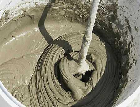 Изготовление цементного раствора: пропорции