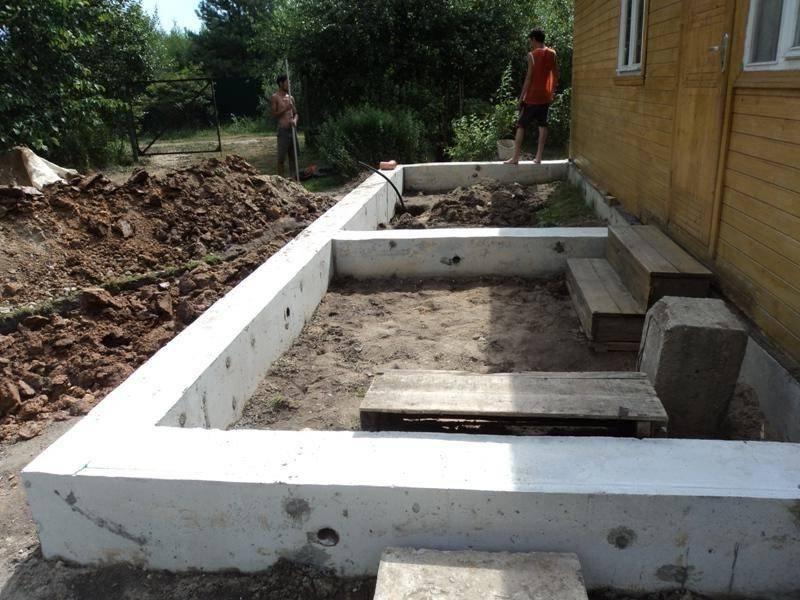 Деревянная и кирпичная пристройка к дому своими руками: фото, проект и строительство