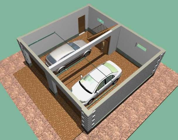 Проекты гаражей на две машины с хозблоком