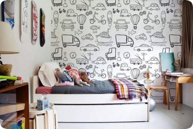Обои в клетку в интерьере: кухни, кабинета, спальни - Идеи - Инструкции