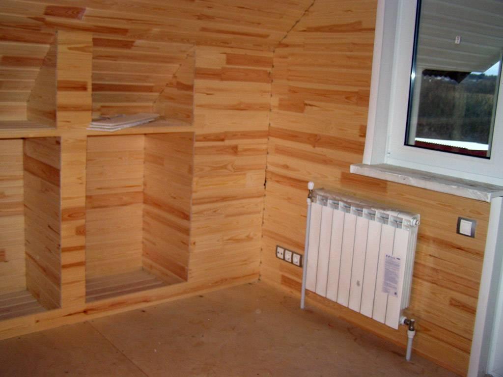 Покрытие поверхности стен комнат и дома. как отделать вагонкой?
