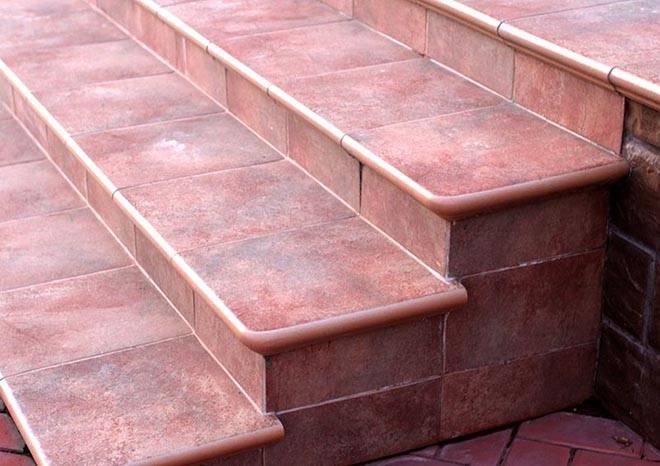Клинкерная плитка для крыльца: примеры использования в интерьере - все про керамическую плитку