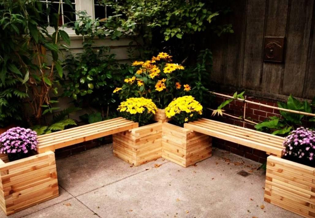 Металлические садовые скамейки своими руками — чертежи и фото