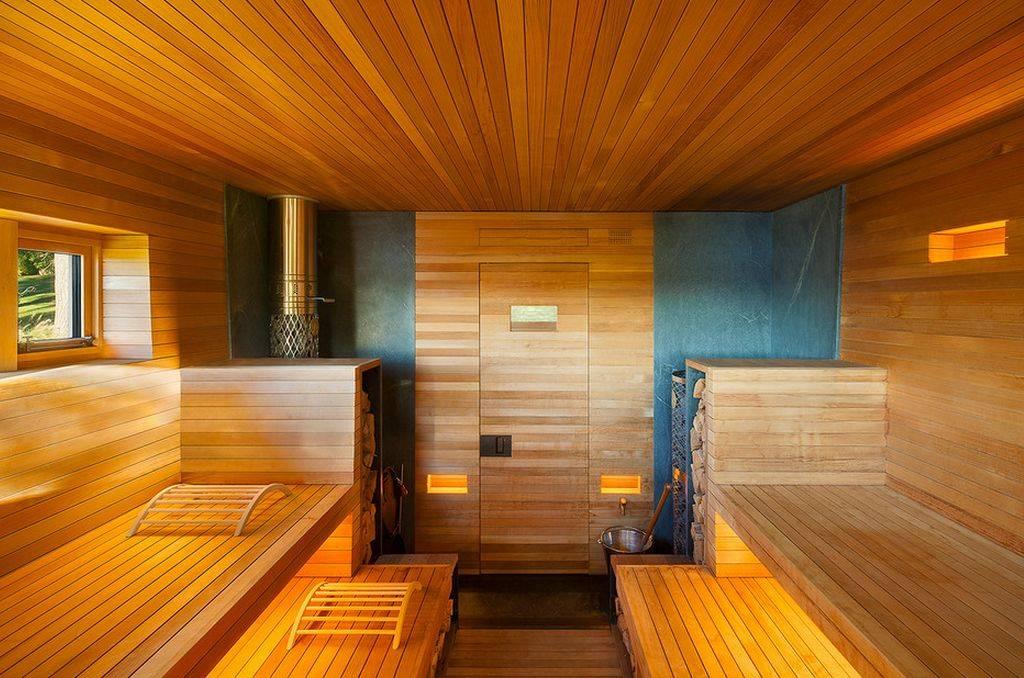 Отделка бани (125 фото): чем обшить парилку внутри своими руками, внутренняя отделка и декор сауны из пеноблока и древесины
