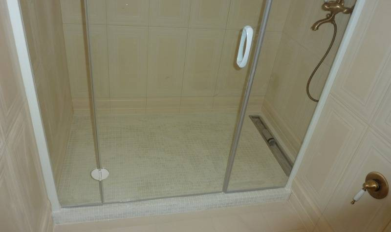 ➤ как сделать слив в полу в душе, в бане, установка трапа | мы строители ✔1