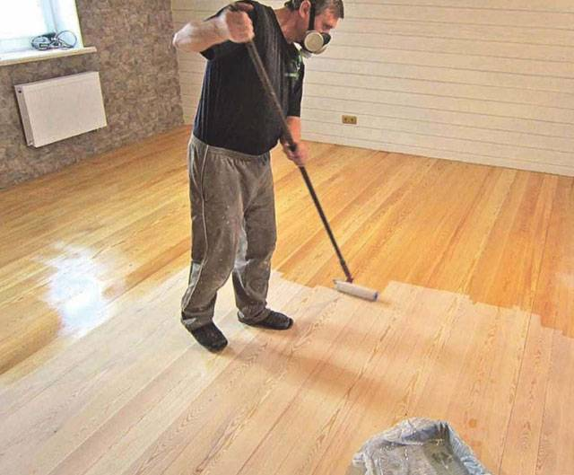 Покраска пола – технология окраски для деревянных и бетонных полов (80 фото)