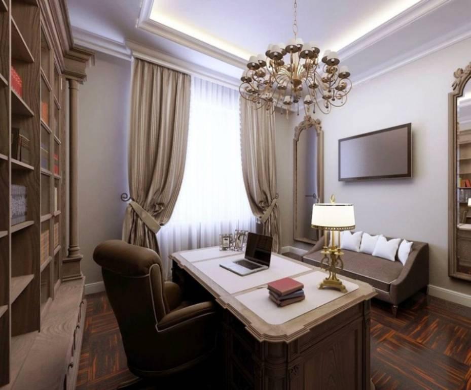 Феншуй рабочего кабинета: схема расположения мебели, картины, цветовая гамма стен