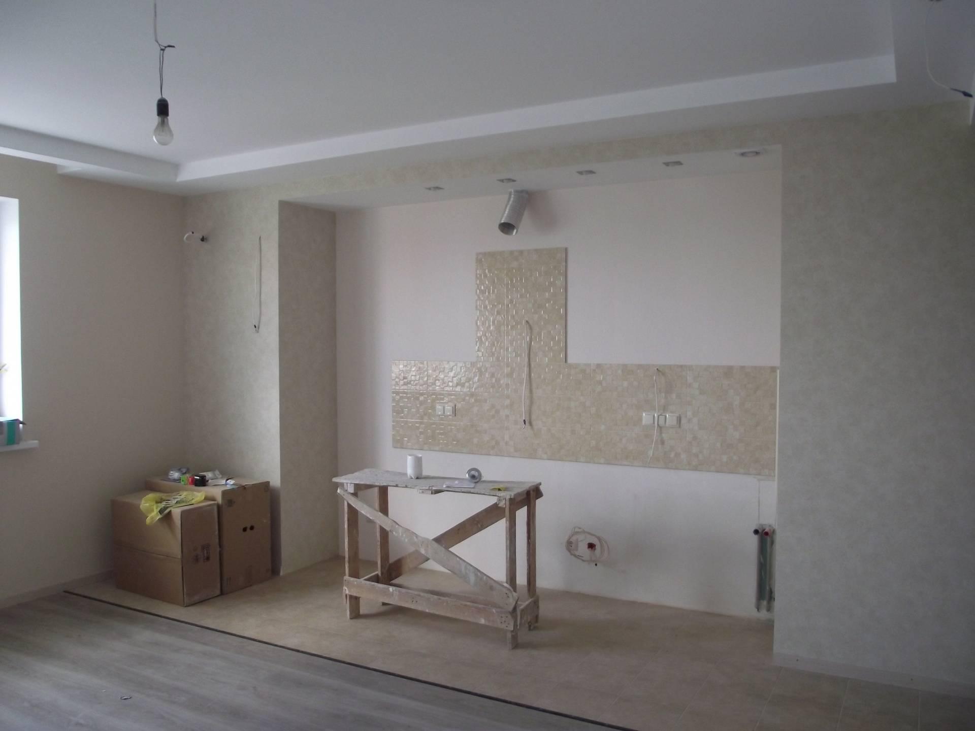 Последовательность выполнения ремонта в квартире с черновой отделкой