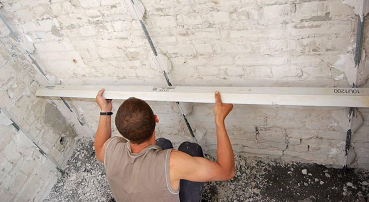 Штукатурка потолка: как правильно штукатурить своими руками, способы и технология нанесения