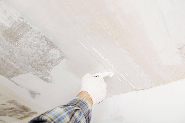 Шлифовка потолка после шпатлевки - технология выполнения работ