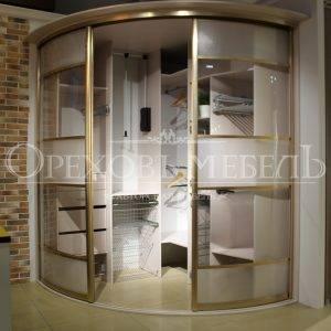 Радиусные шкафы - 80 фото изготовленных под заказ дизайнерских проектов