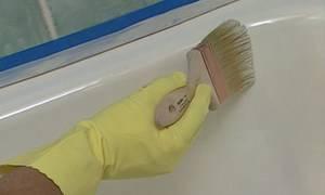 Покраска ванны акрилом своими руками: пошаговая инструкция с фото