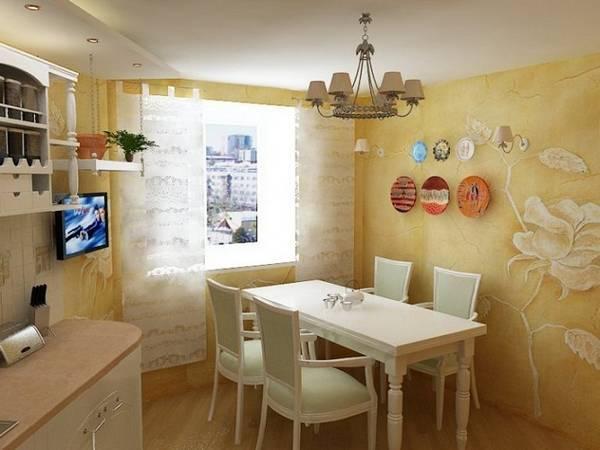 Чем отделать стены на кухне – 26 фото с примерами и этапами работ