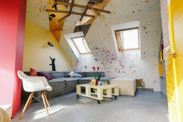 Покраска стен в квартире — 40 фото идей, варианты покраски