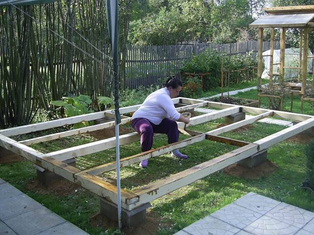 Каркасная летняя кухня своими руками: проекты, фото, этапы строительства