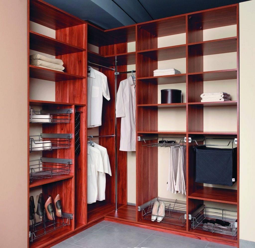 Наполнение шкафа купе в спальню, виды для различных конструкций и форм