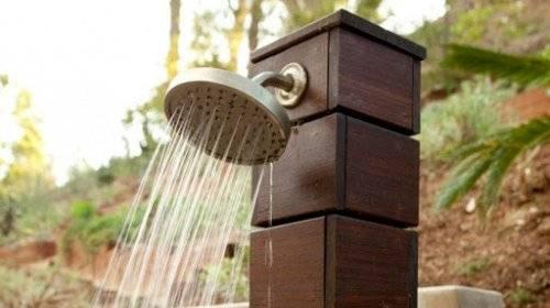 Какой выбрать летний душ для дачи: ТОП-10 лучших дачных душей