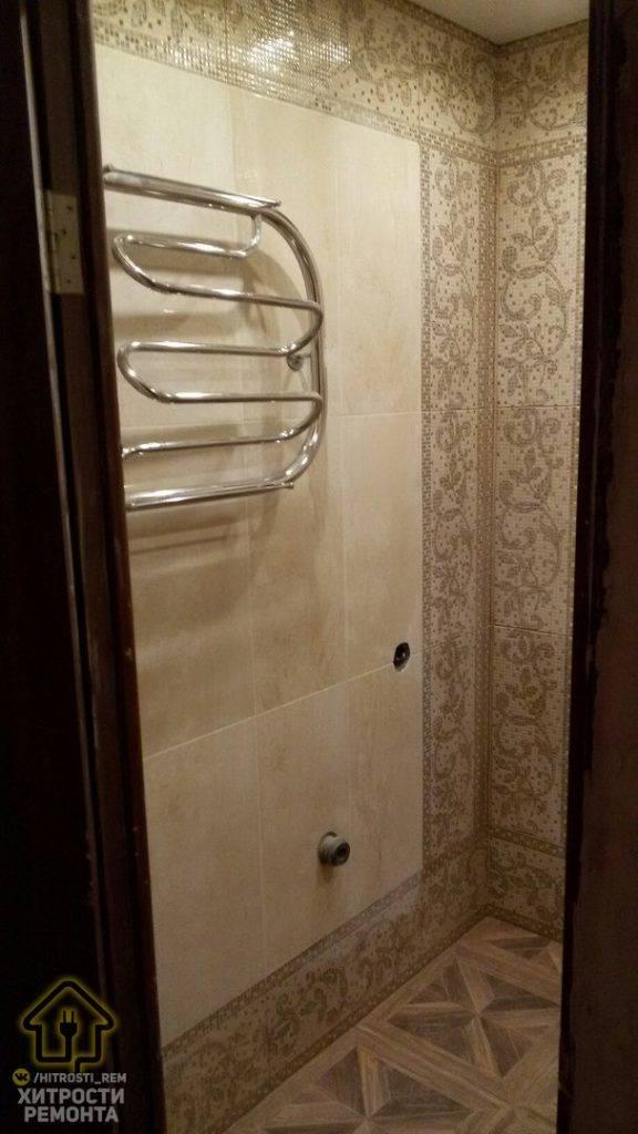Супруги сами сделали бюджетный ремонт в ванной. посмотрим, что у них получилось