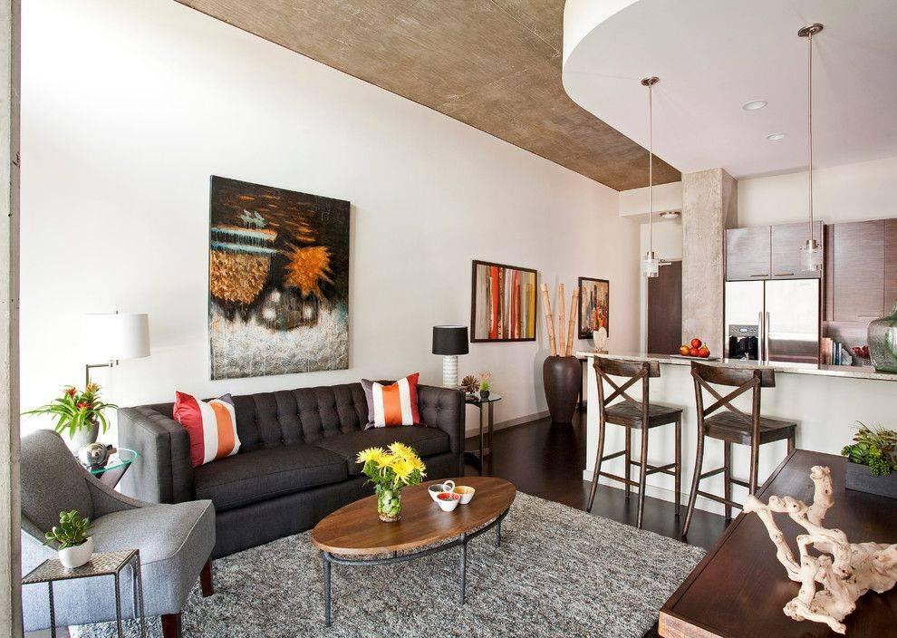 Дизайн квартиры 50 кв. м. [100+ фото] идеи для 1,2-комнатных и студий