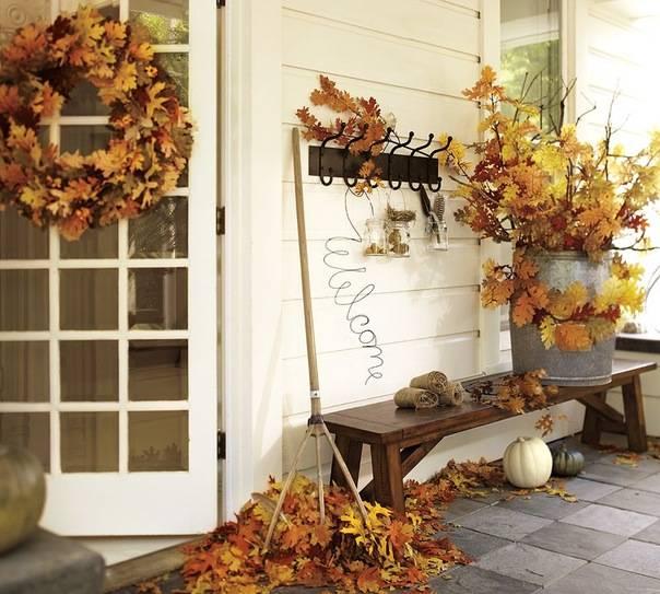Уютный осенний интерьер – подборка идей декора и 28 фото