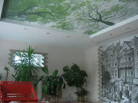 Установка тканевого натяжного потолка своими руками