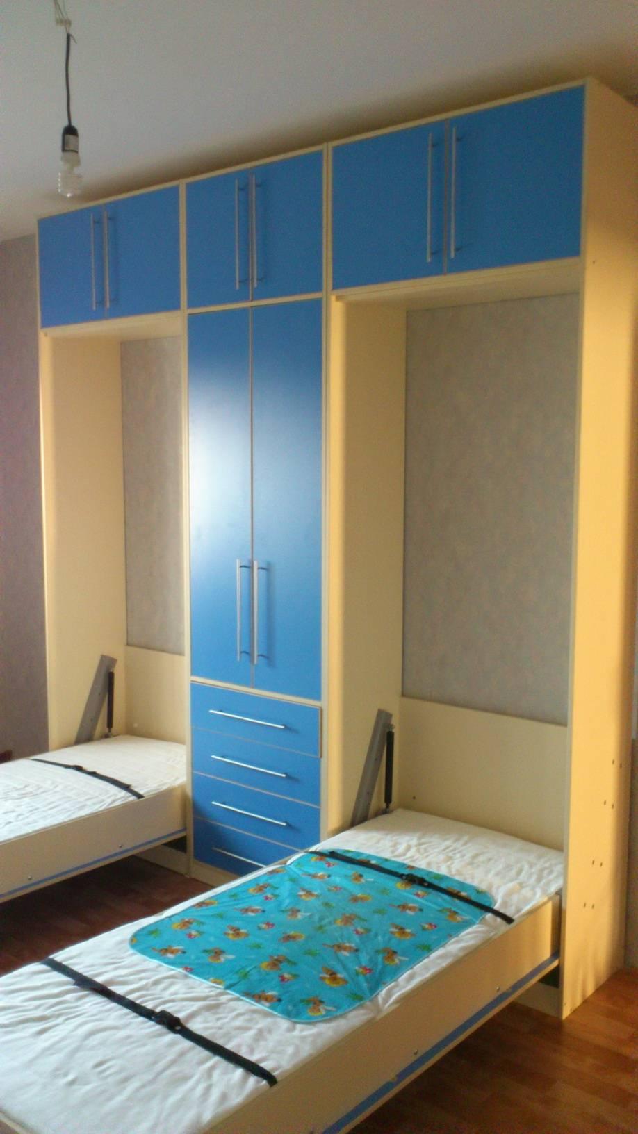 Кровать трансформер для малогабаритной квартиры - изучаем варианты!